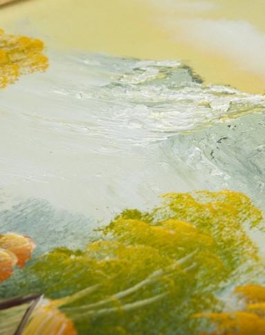 弗森&恩方m-fun&鹿家居欧式风景油画 悠然乡野fel0818