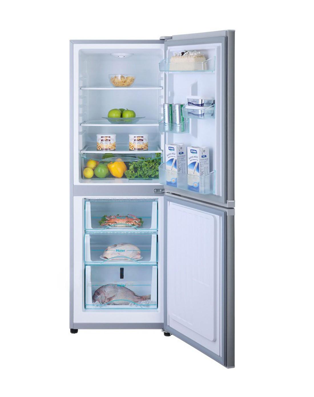 海尔haier冰洗空专场196升两门冰箱 冷藏冷冻节能 bcd