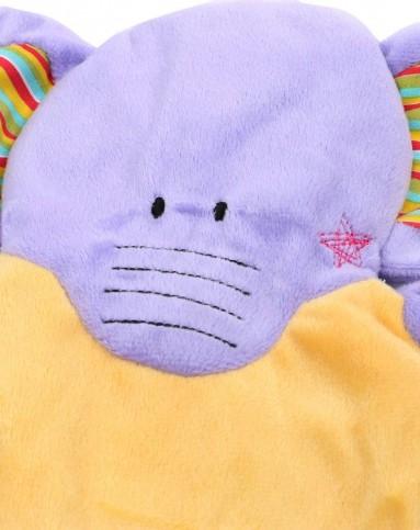 大象帽子的编织方法图解