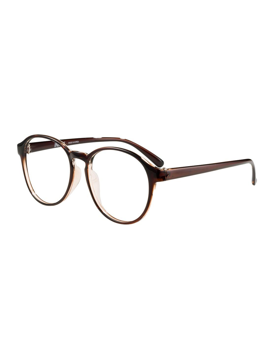 复古圆眼镜框