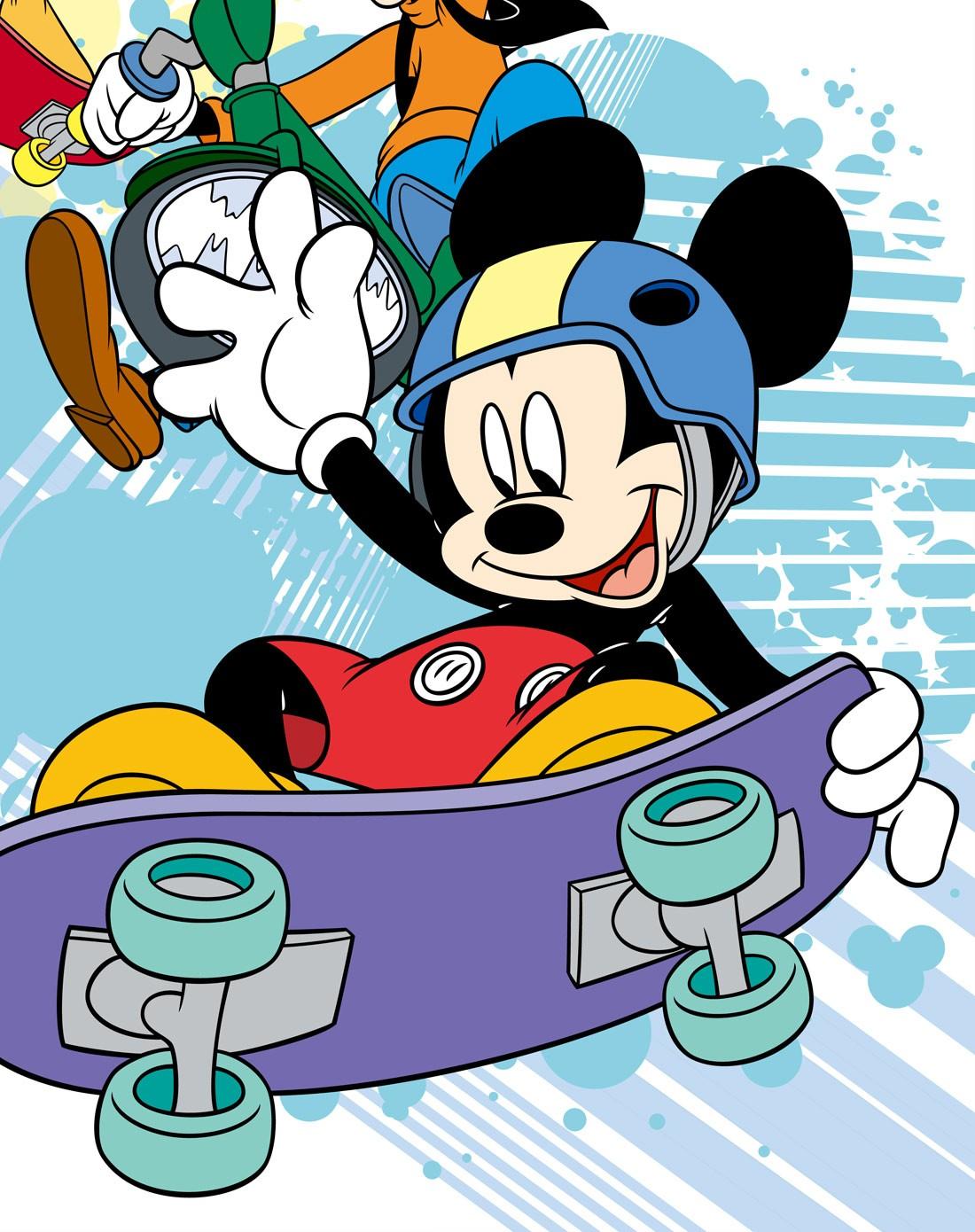 迪士尼disney儿童家具专场 > 迪士尼 挂画-米奇滑板迷