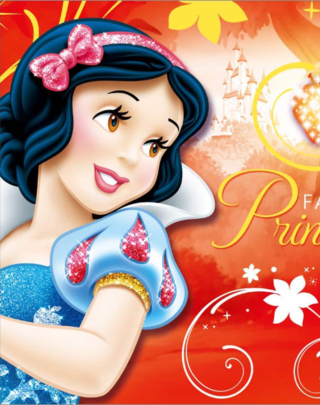 迪士尼 挂画-白雪公主欢乐时光