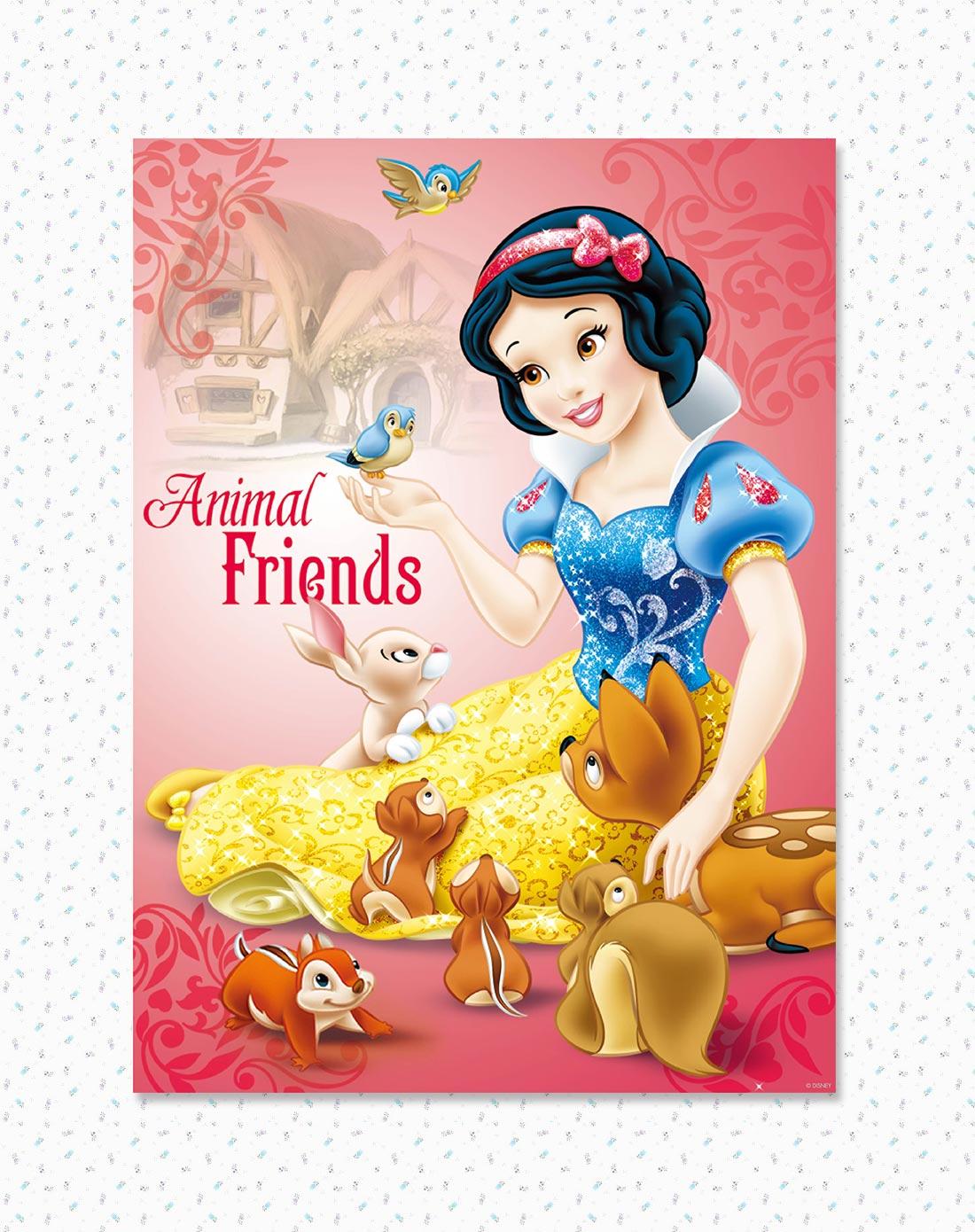 迪士尼 挂画-白雪公主之动物情缘