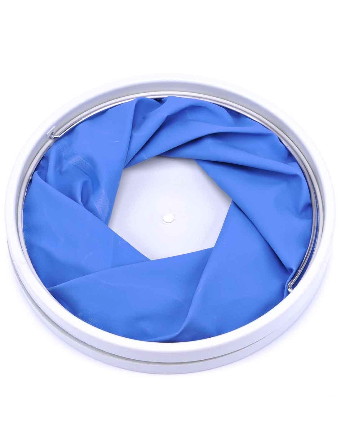 户外便携式折叠水桶蓝色ff