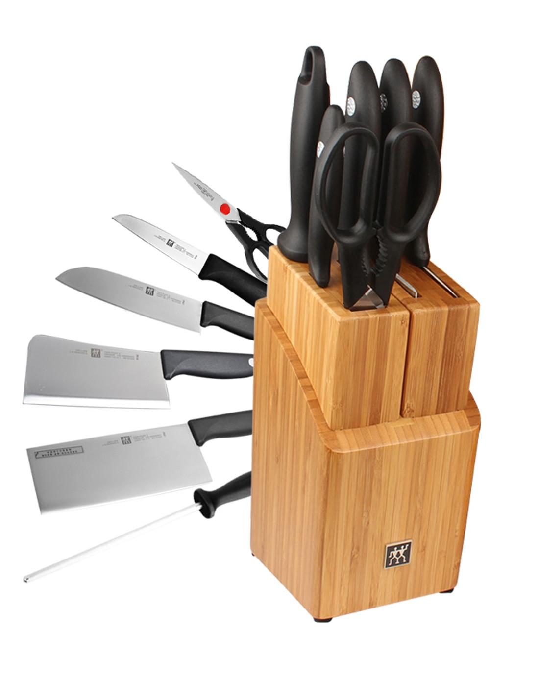 双立人twinpoints不锈钢刀具7件套