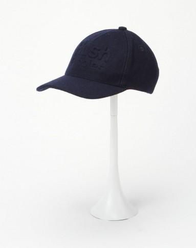 男款深蓝色型格帅气帽子