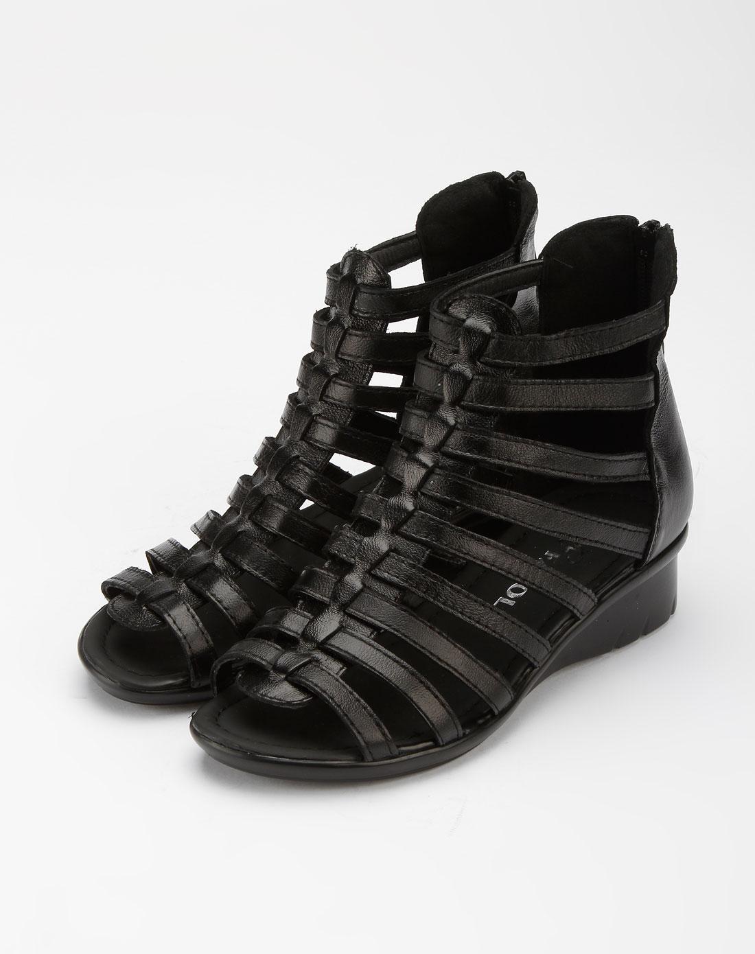 凉鞋平底女韩版包根