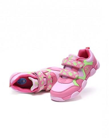 女童粉色运动鞋