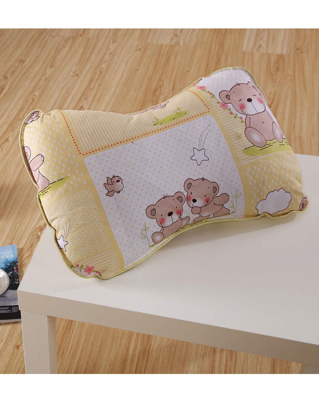 可爱熊儿童枕