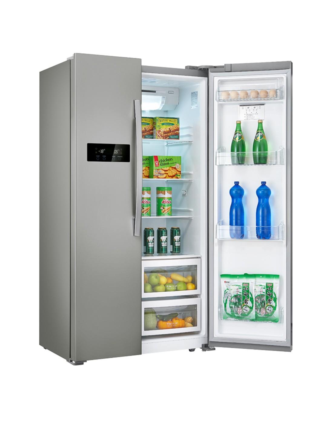美的midea冰箱专场516升风冷无霜节能对开冰箱bcd-516