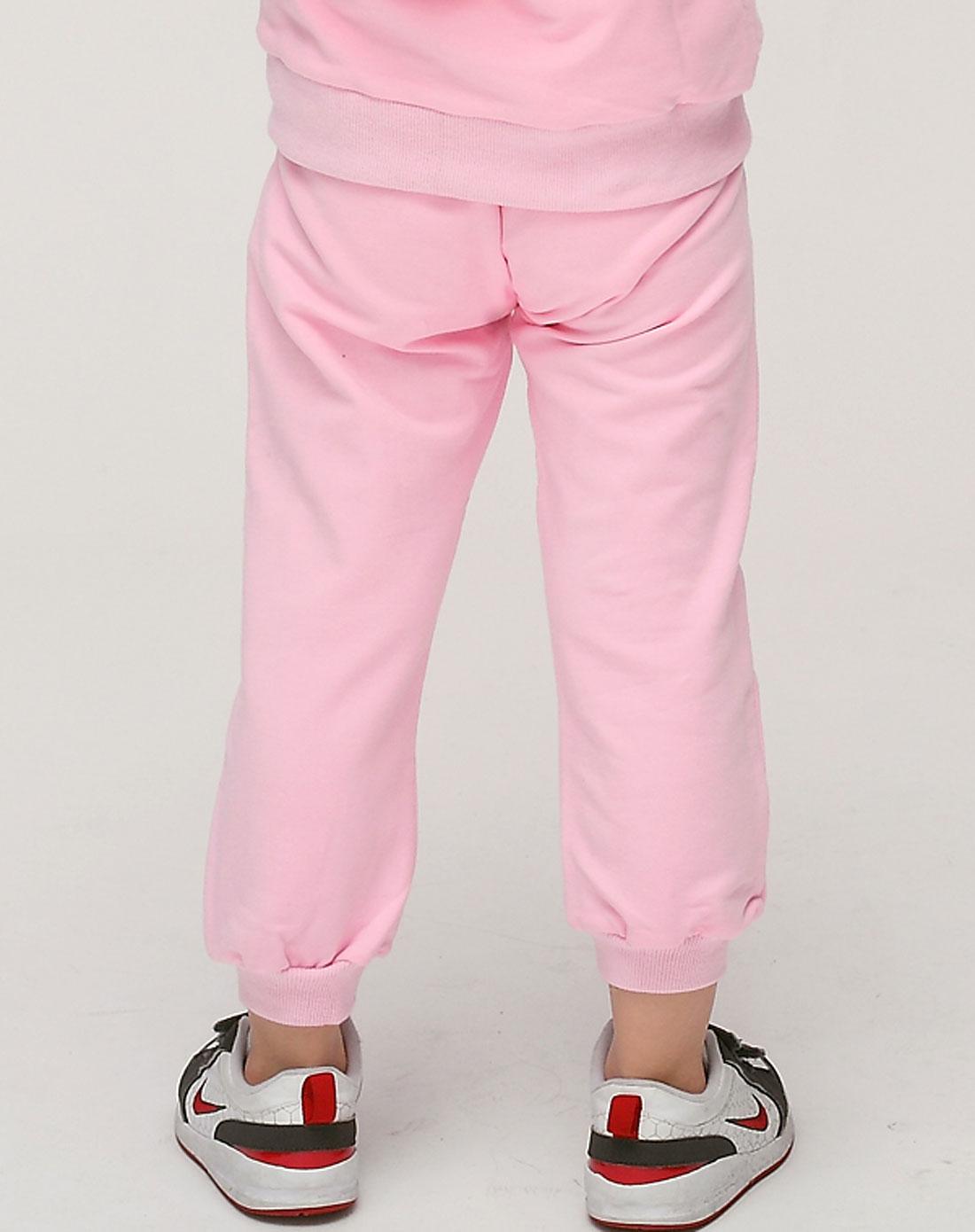 ciel男女童女童粉色裤子gpm1852pi