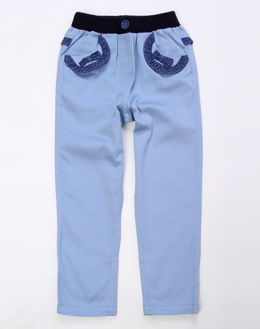 ciel男女童女童蓝色裤子gps1519bu