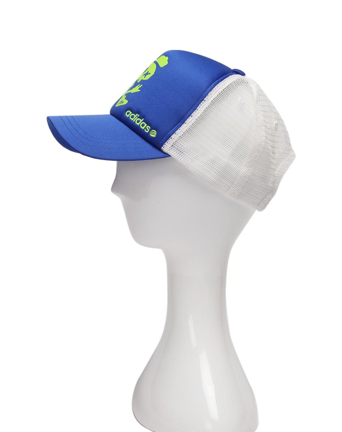 男款蓝/白色运动休闲系列帽子