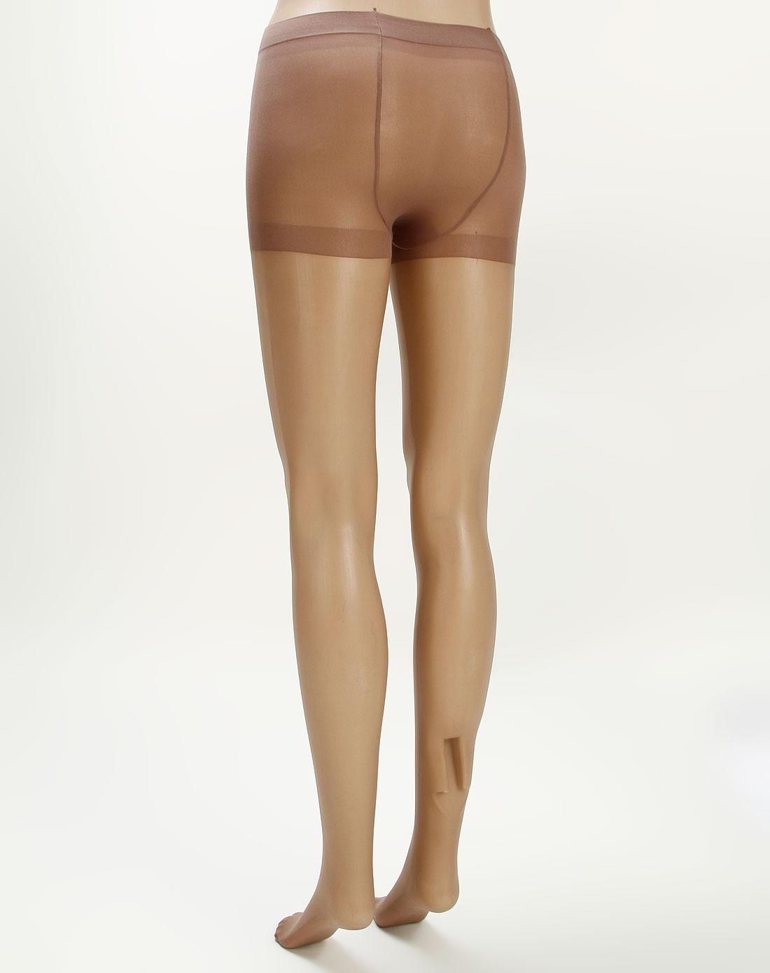 寓美女款肤/咖啡两色超爽天鹅绒单加裆丝袜2双装