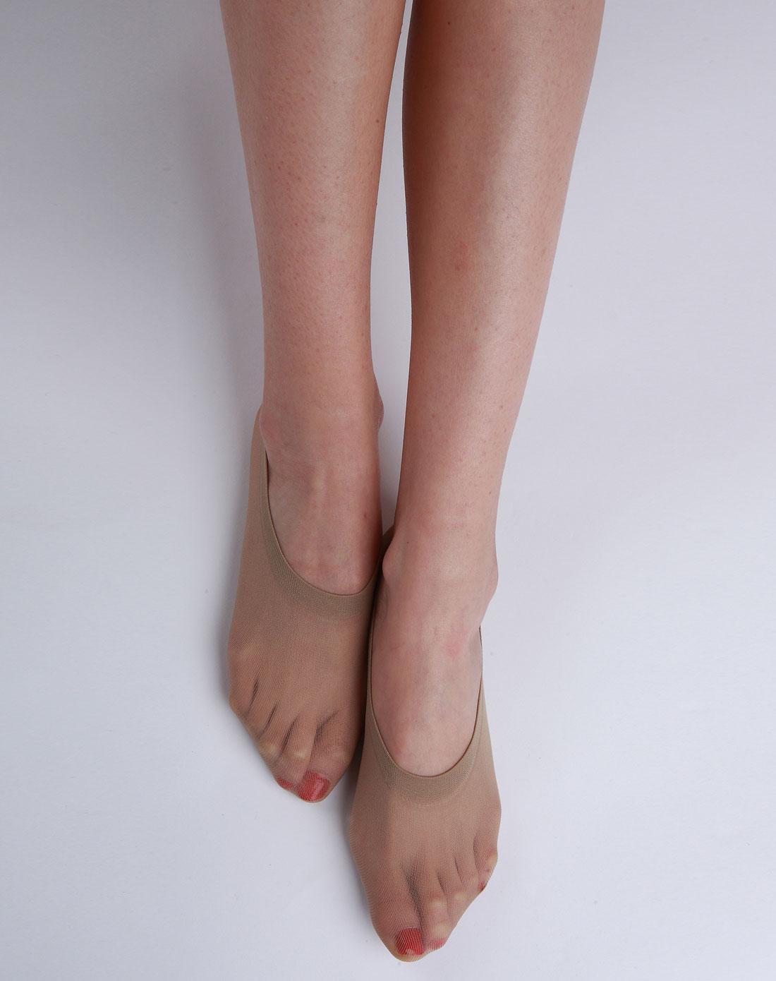 梦娜&阳光女孩女款肉色隐形船袜12双装6943541404620
