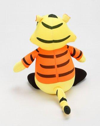 黄色小老虎竹炭摆件