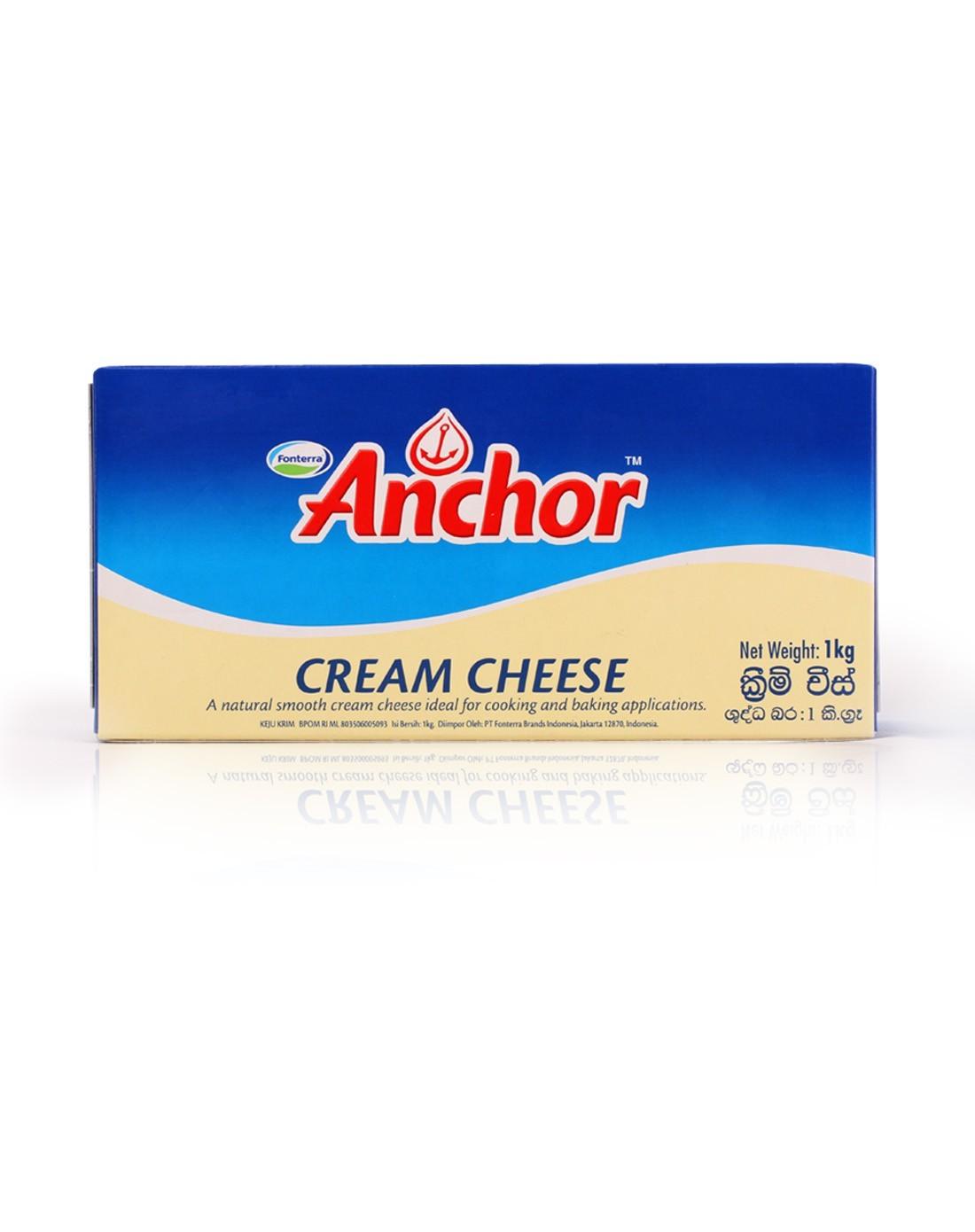 安佳anchor 新西兰奶油忌廉芝士1kg