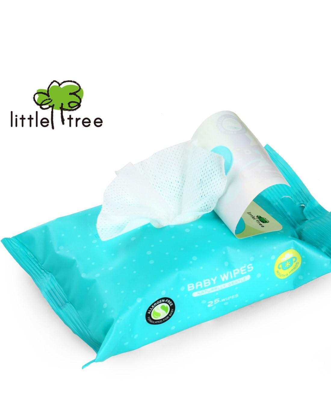 【两件起售】小树苗 手口专用婴儿柔湿巾