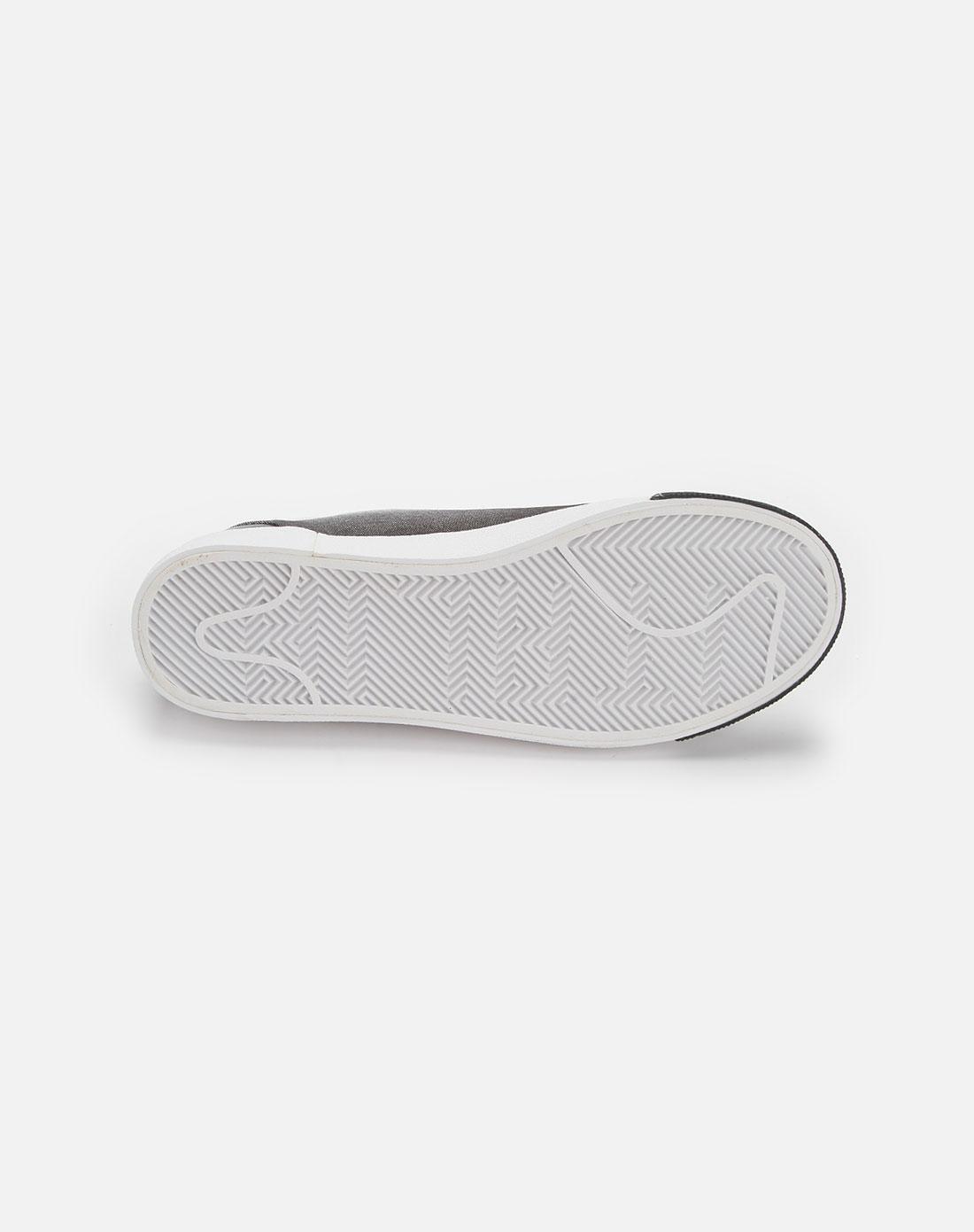 卡帕kappa男装专场-黑/白色时尚板鞋
