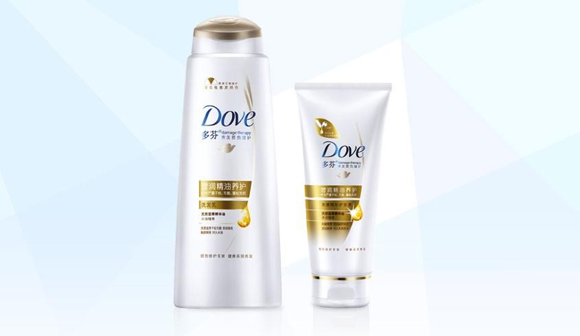 联合利华旗下品牌洗护专场多芬营润菁油养护洗发乳375