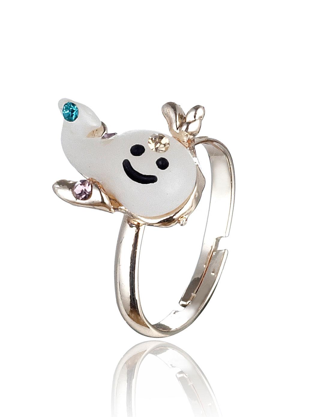 可爱海豚戒指