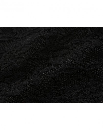 女童黑色加绒连衣裙