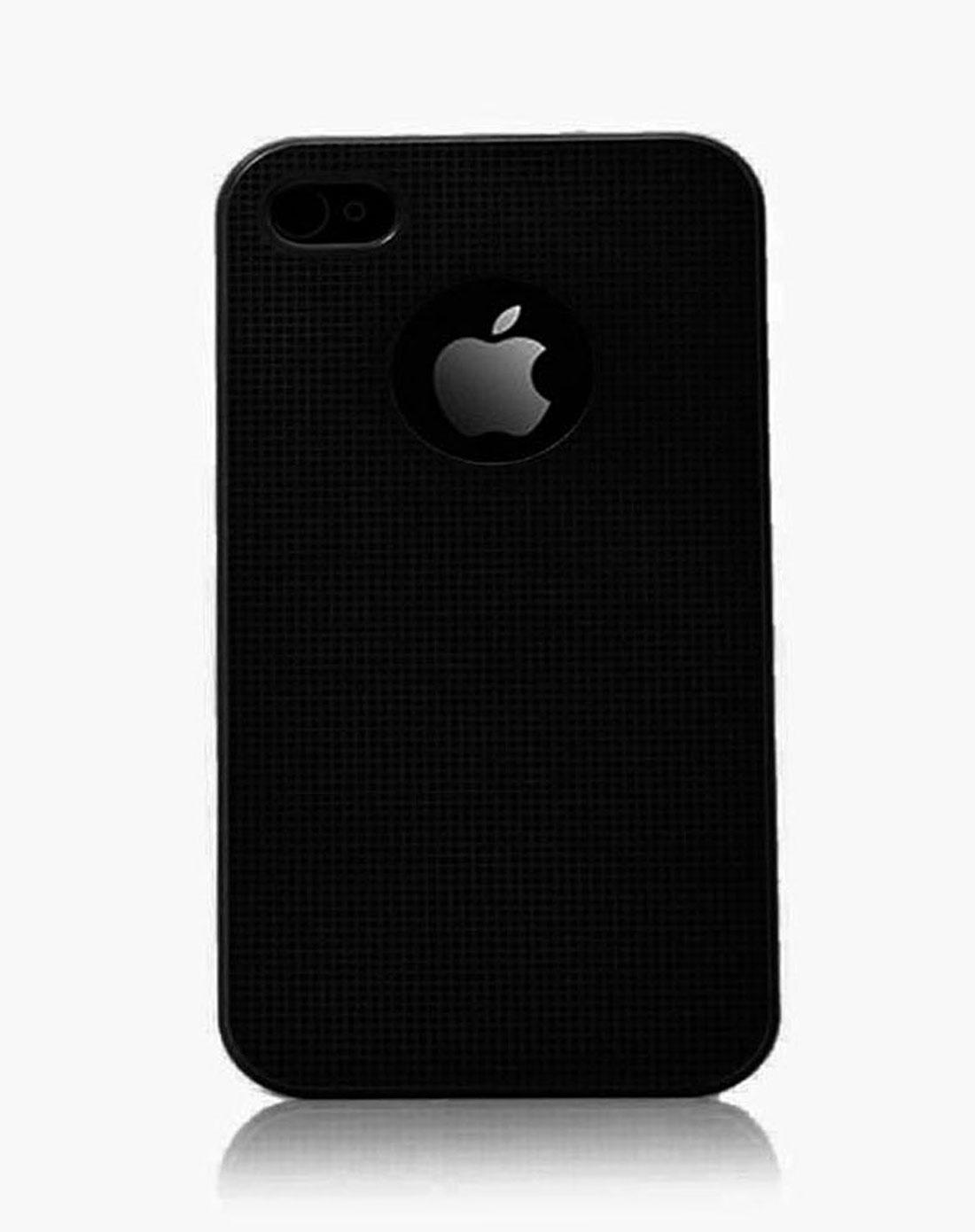 iphone 4/4s 黑色防指纹系列保护壳
