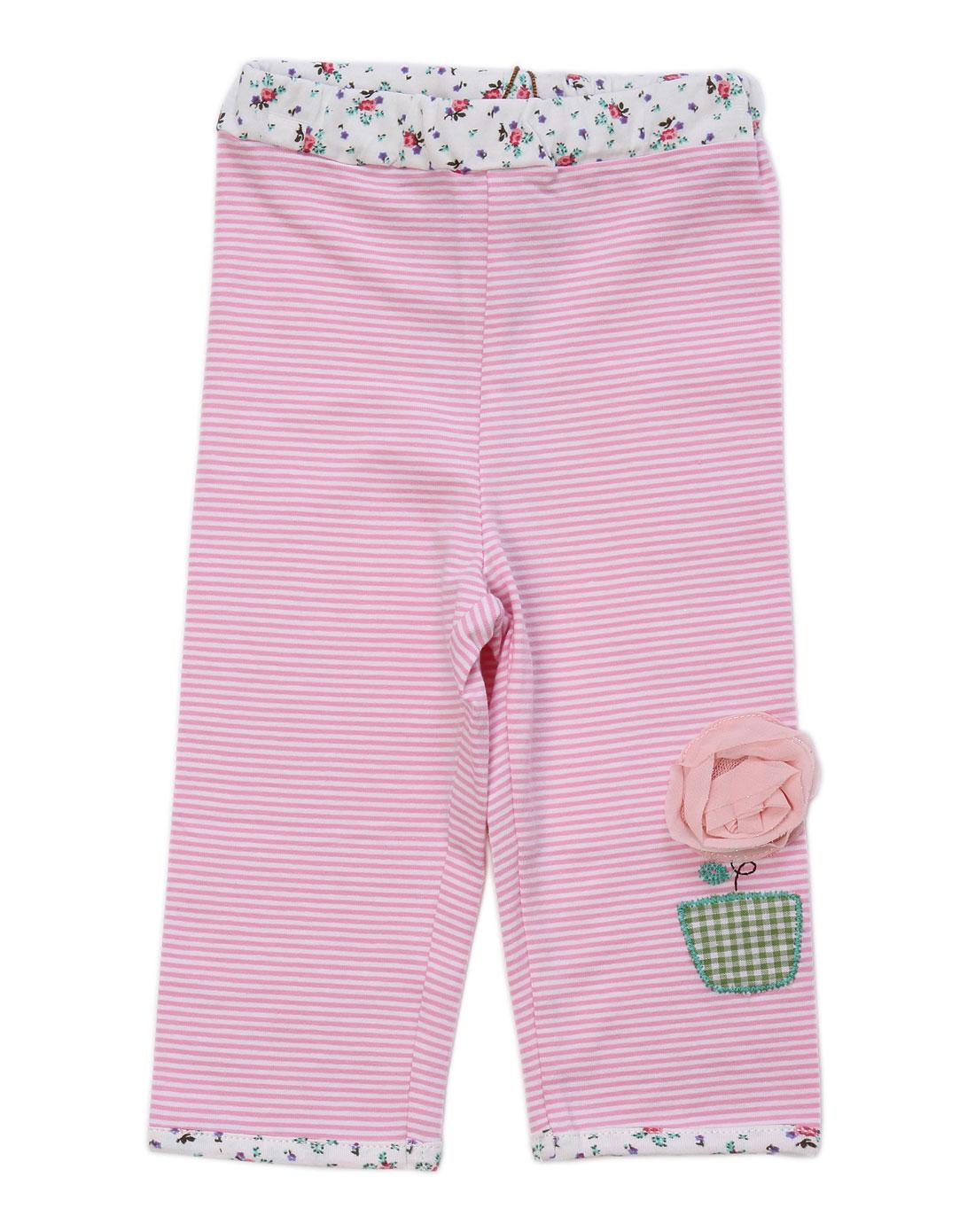 ciel男女童女童粉色裤子gpm023pi