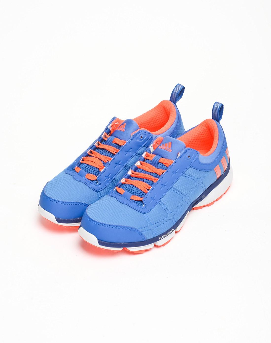 男款水蓝色跑步鞋