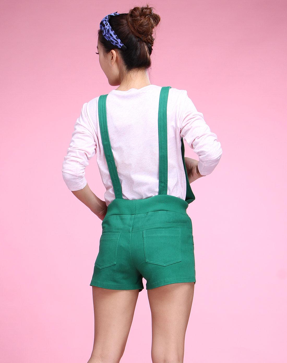 背带短裤cd03q053-l30