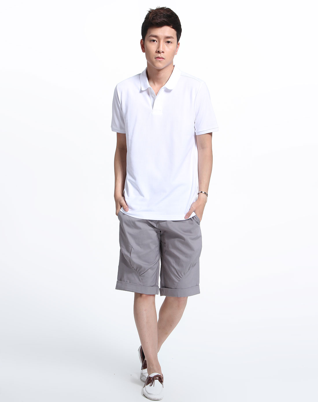 robe di kappa男女男款白色简约短袖上衣r1132ps25