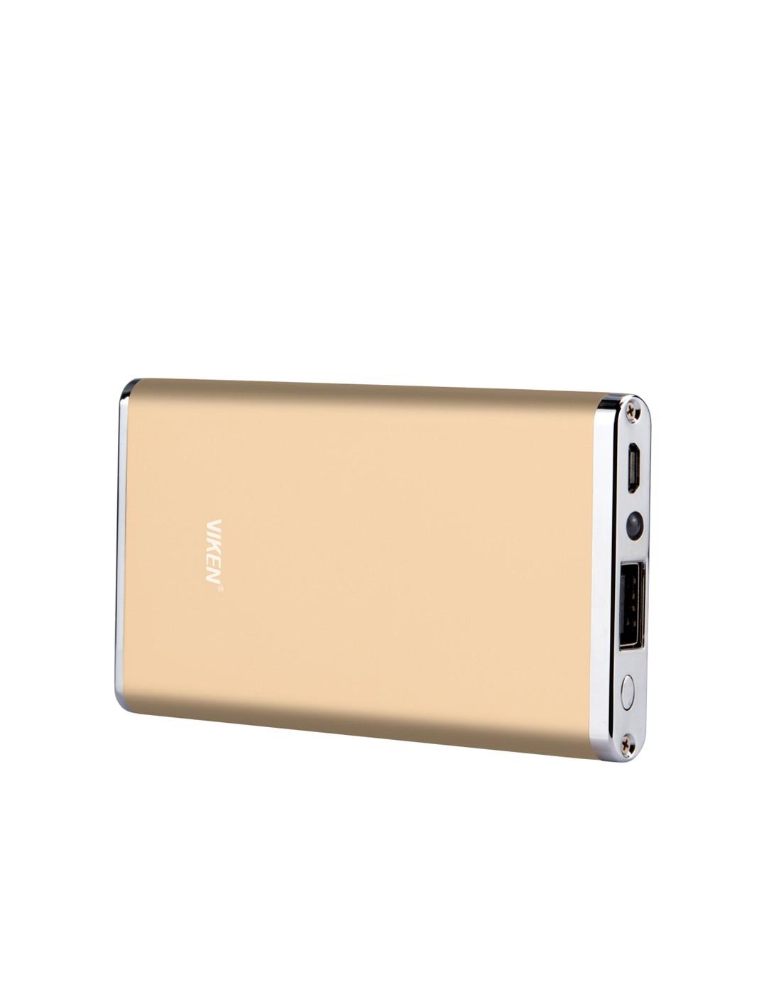 维肯viken数码配件专场奢华材质 超薄6000毫安充电宝