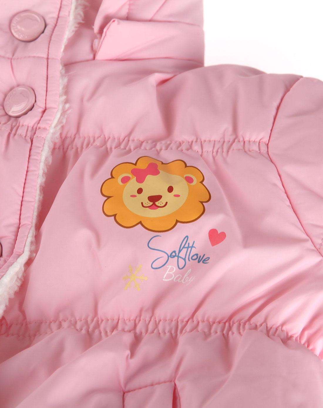 浅粉色可爱动物耳朵