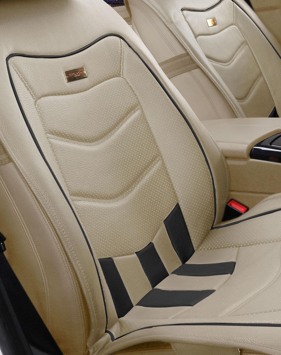 玛莎拉蒂原车座椅风格通用座垫米黑