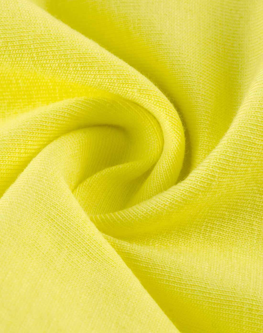 女童黄色纯色打底裤