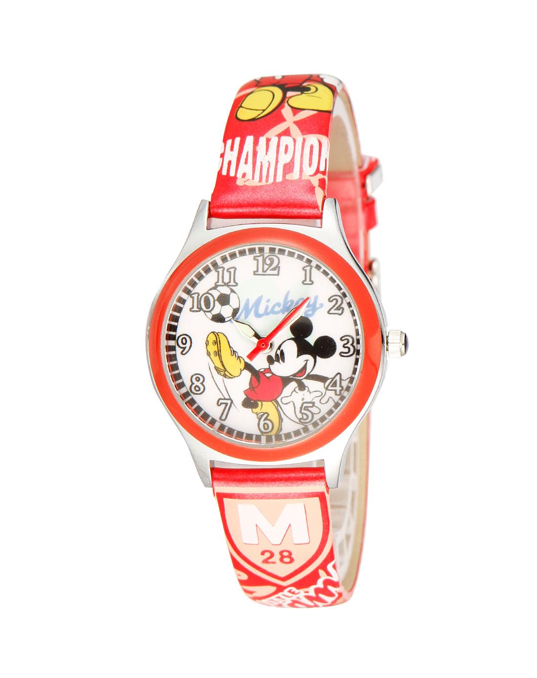米奇白/红色儿童手表