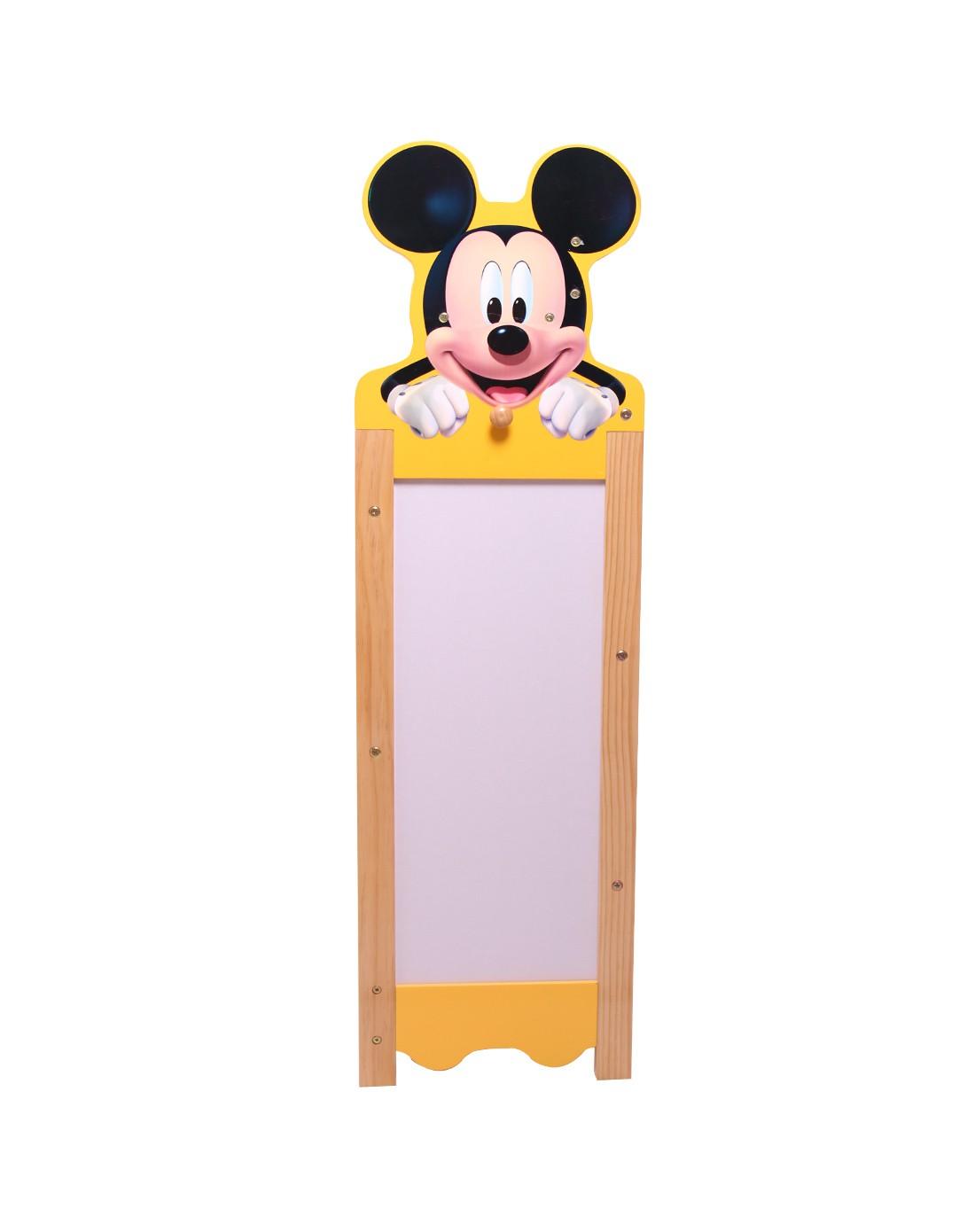 迪士尼儿童卡通小家具专场 > 大米奇头玩具收纳架侧板画板