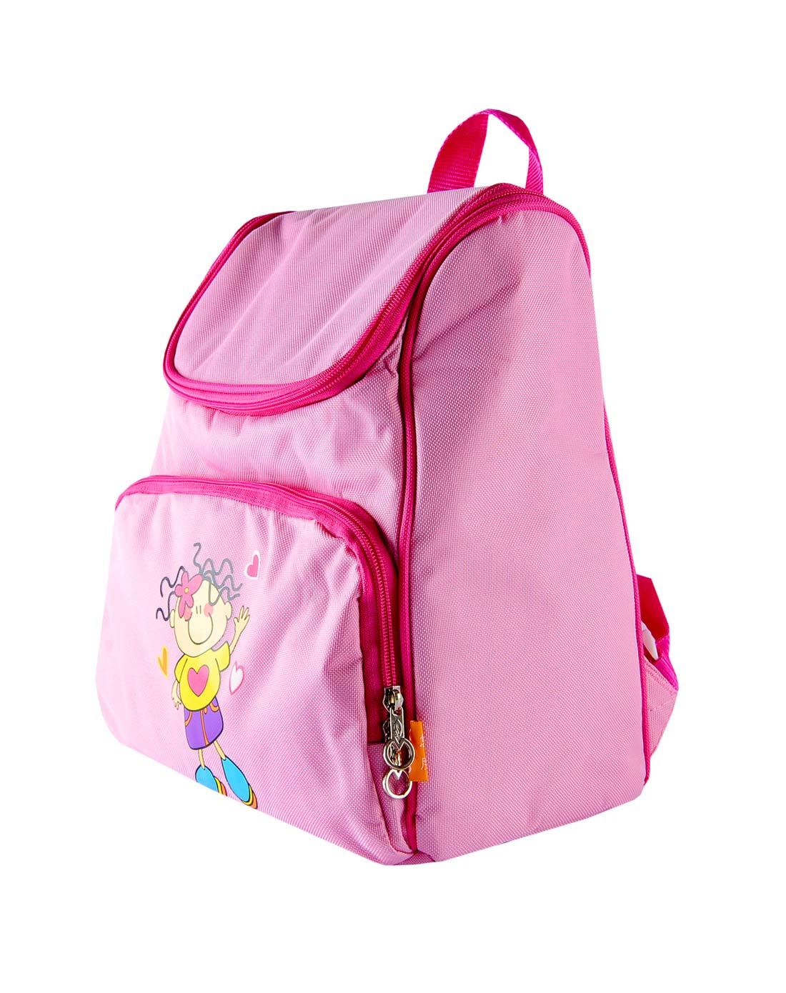 粉色卡通人物包