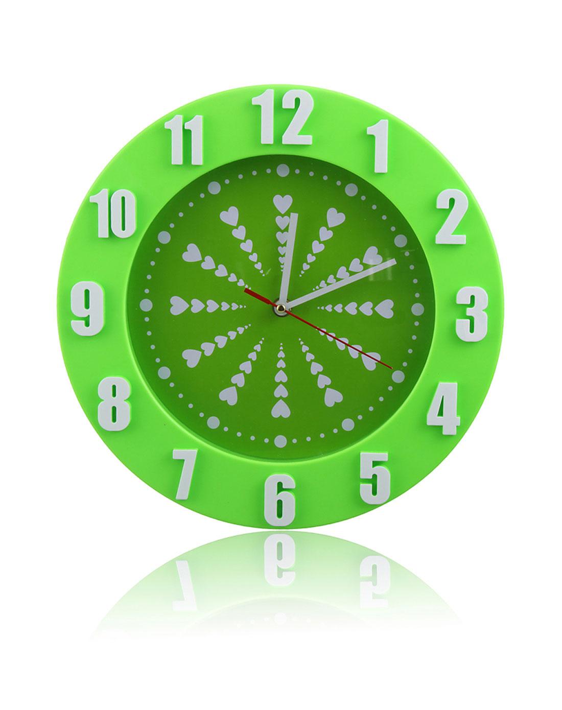 立体数字挂钟(绿)