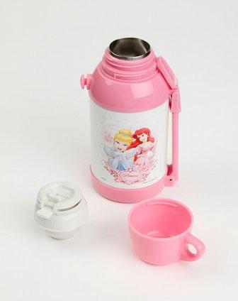 粉红色公主儿童保温壶