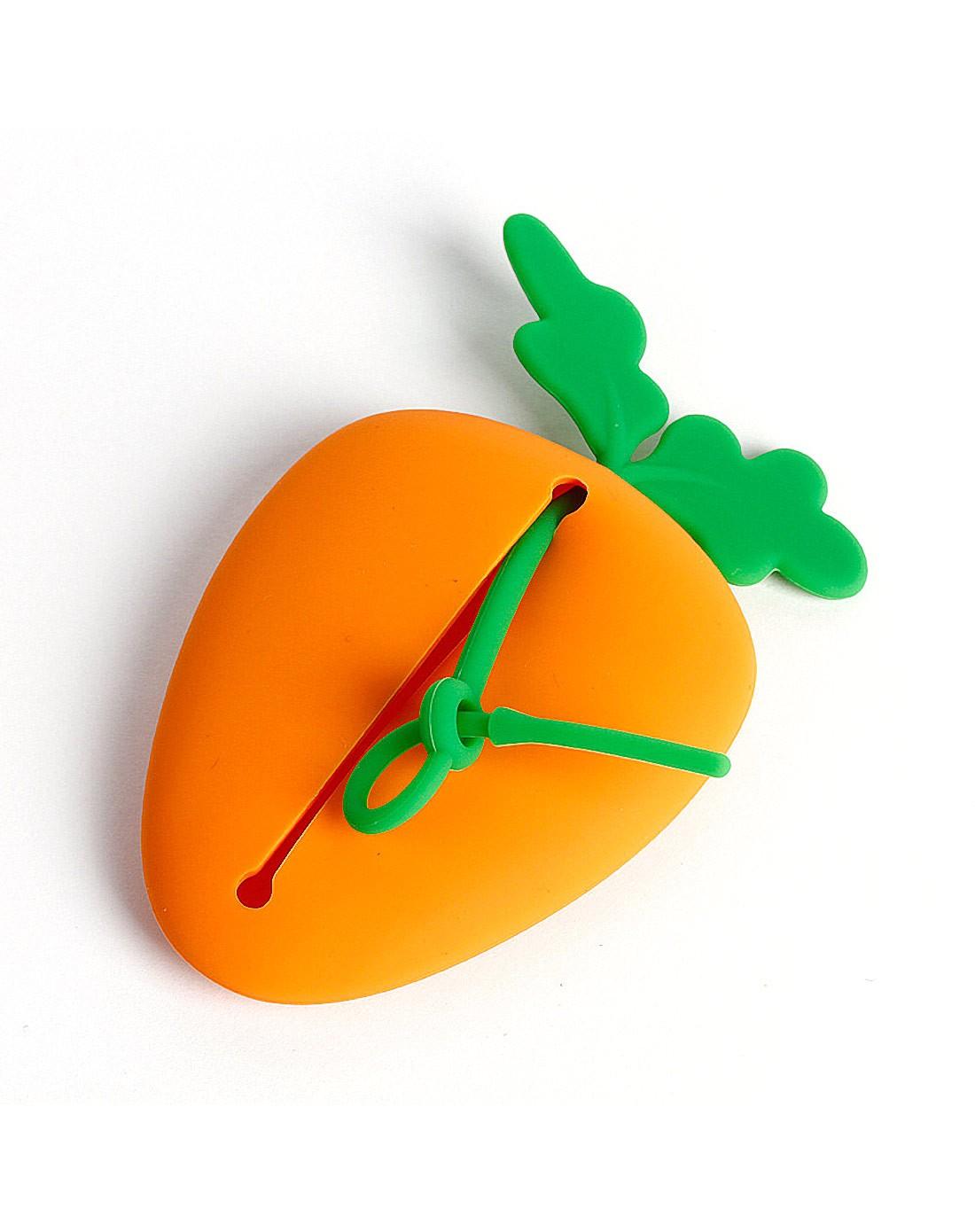 胡萝卜硅胶钥匙包