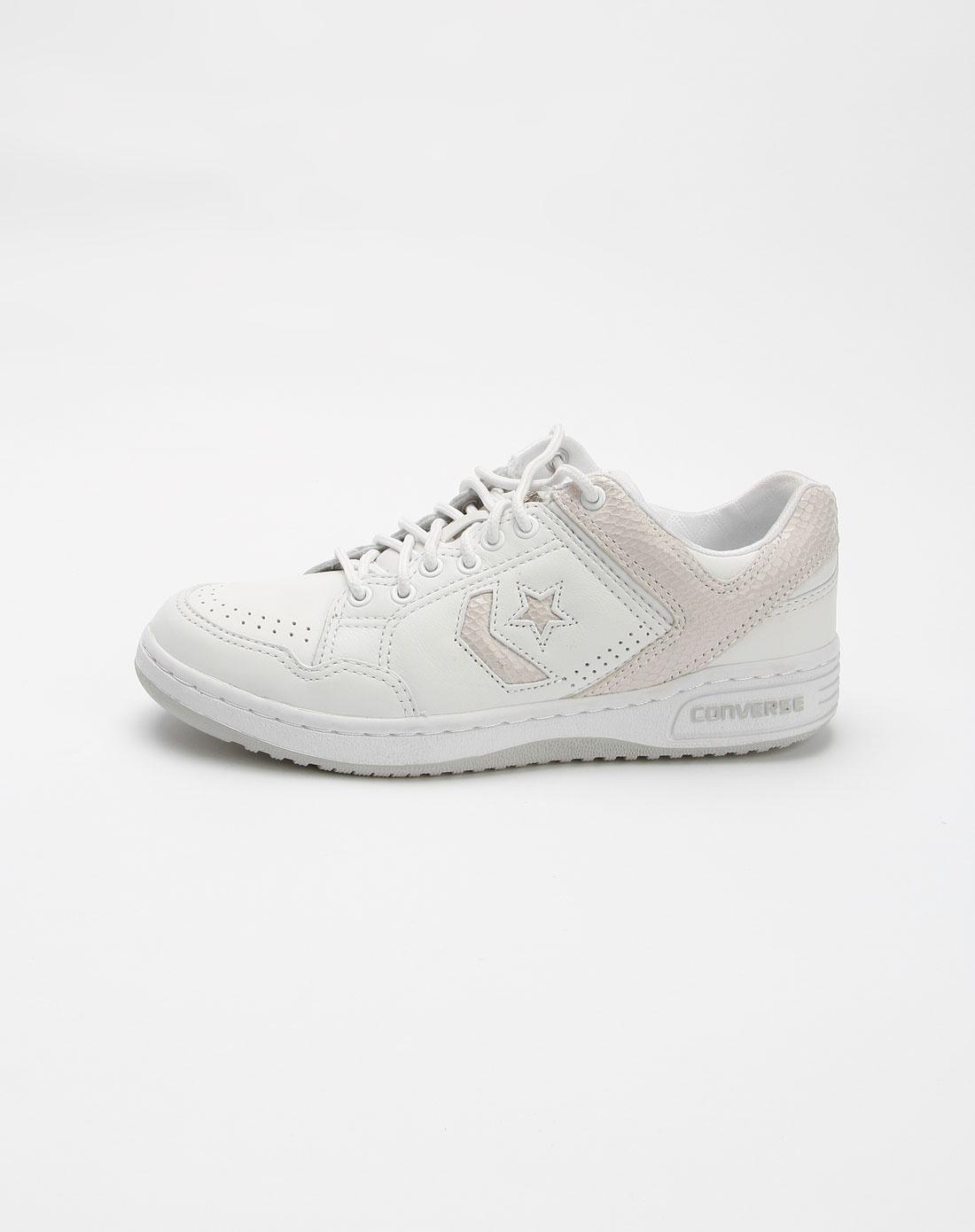 匡威converse 男款白色时尚运动鞋