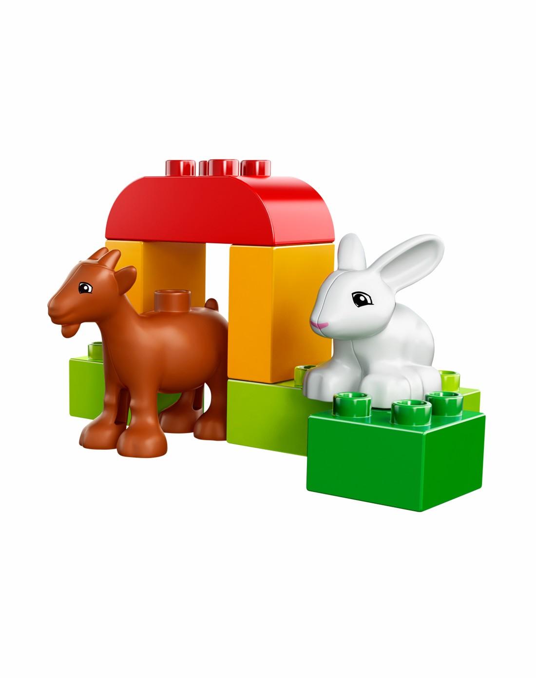 乐高lego 农场小动物 苹果拼砌包2-5岁