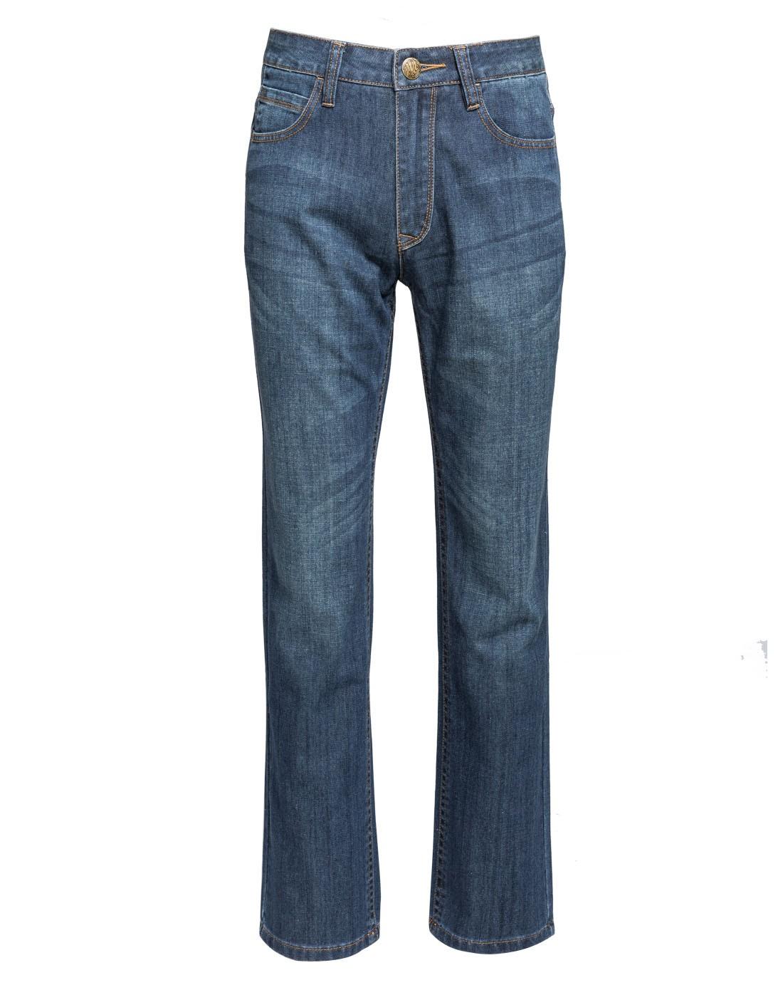 男蓝色牛仔裤