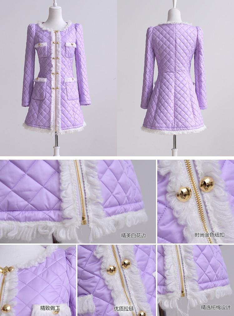 紫色花纹平铺背景