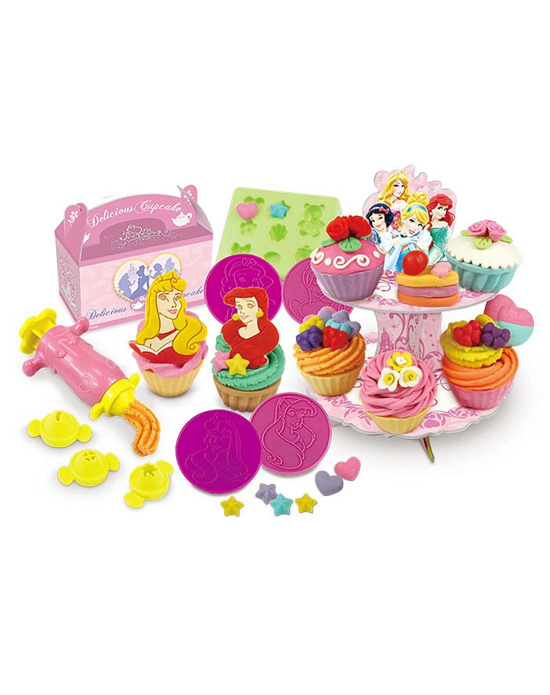 迪士尼公主彩泥 杯子蛋糕组合