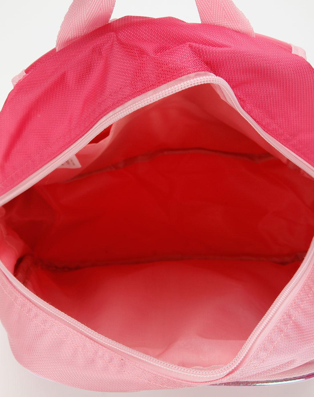 玫红色米妮卡通包