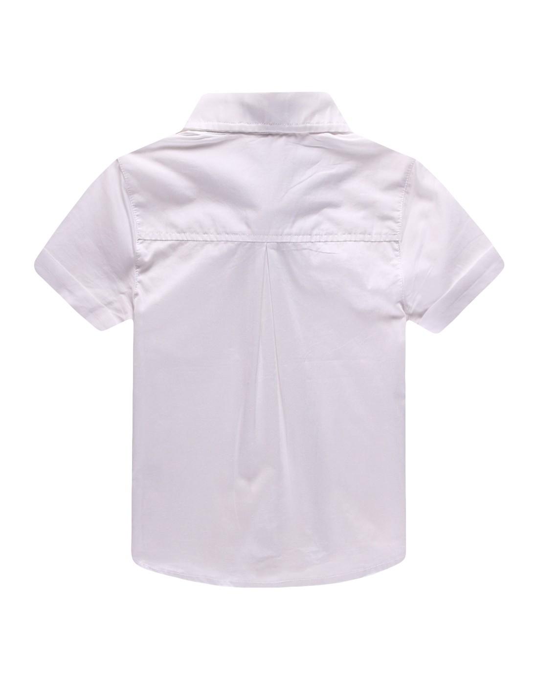 男米白衬衫