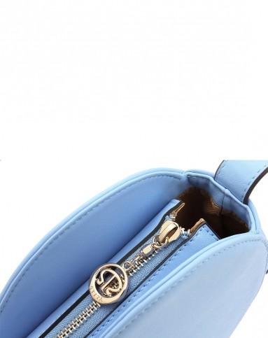 斯提亚stiya粉蓝色浪漫可爱心形单肩斜挎包sk152610