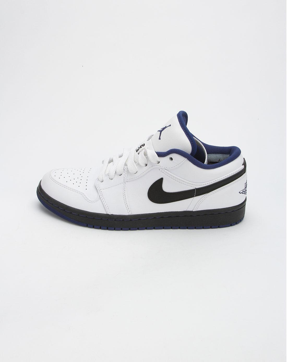 男款白色air jordan 1 phat运动鞋